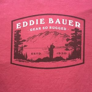 💥 3/$25 Eddie Bauer T Shirt Sz XL Like New   D7
